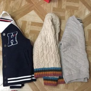 3 pieces sweater and jackets for boys (kid)